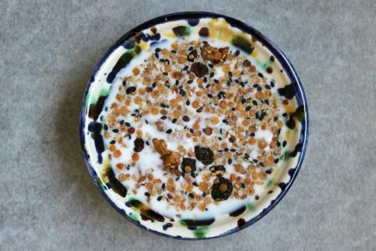 granola de lentejas