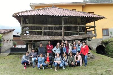 Foto grupo 2 Molino de la Veiga