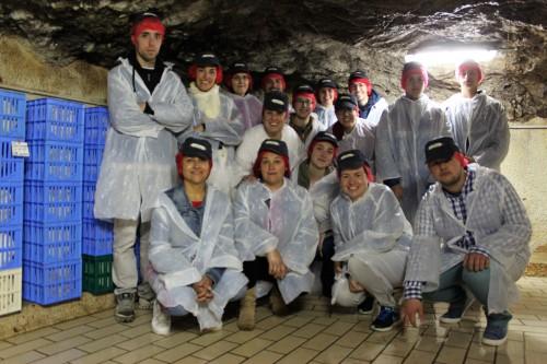 Foto grupo cueva
